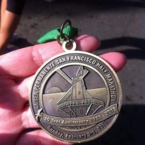 Kaiser SF Half Medal