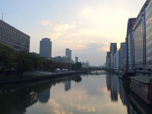 Osaka morning run